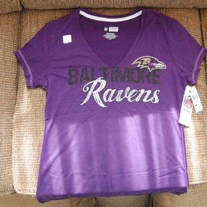 Women's NFL Baltimore Ravens Shirt